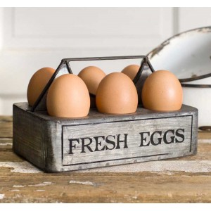 """Fresh Eggs"" Caddy"