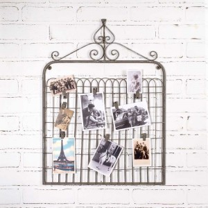 Garden Gate Photo Holder with Clips
