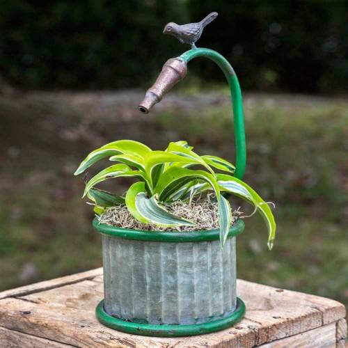 Garden Hose Small Round Planter