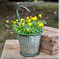 Garden Hose Tapered Planter