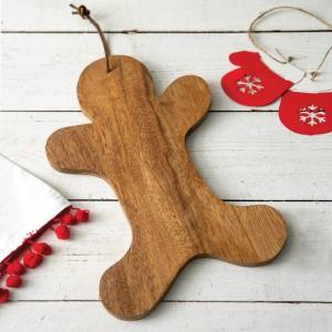 Gingerbread Wood Board