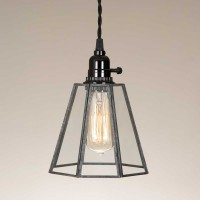 Glass Bell Pendant Light