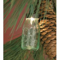 Bulk - Glass Mason Jar Ornament
