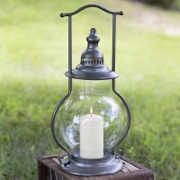 Gunmetal Steeple Lantern