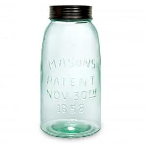 Half Gallon Mason Jar with Lid