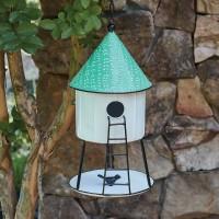 Hanging Hut Birdhouse
