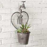 Heart Faucet Wall Planter