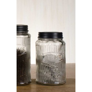 Hoosier Tea Jar
