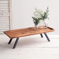Industrial Raised Wood Tray