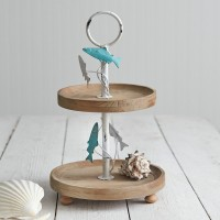 Jumping Fish Two-Tier Tray