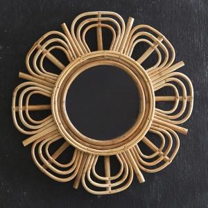 Juniper Rattan Mirror