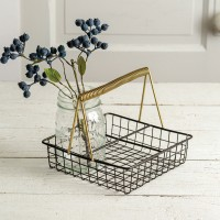Kitchen Caddy - Black and Gold