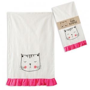 Kitty Tea Towel - Box of 4