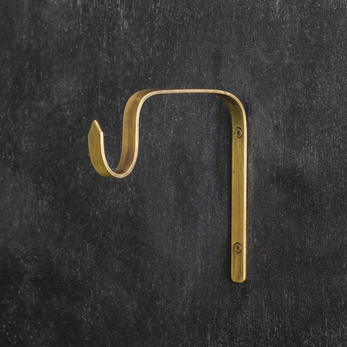 Lantern Bracket - Antique Brass - Box of 6