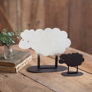 Large and Small Sheep Duo