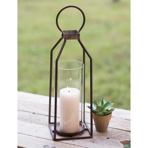 Large Greenville Pillar Candle Lantern