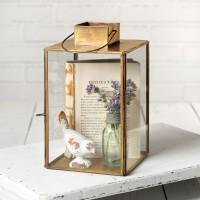 Large Hayworth Lantern - Antique Brass
