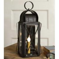 Large Milk House Lantern - Rustic Brown