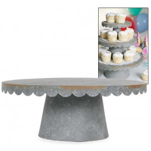 Large Scalloped Cupcake Stand