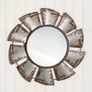 Large Windmill Wall Mirror