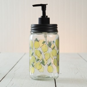 Lemon Soap Dispenser