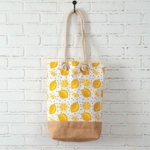 Lemons Market Bag