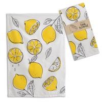 Lemons Tea Towel - Box of 4