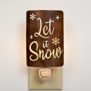 """Let It Snow"" Night Light"