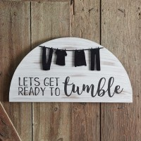 Lets Get Ready To Tumble Washroom Sign