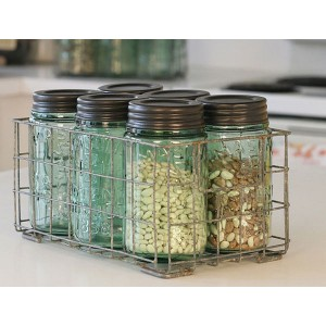 Mason Jar Basket s/2