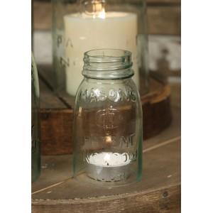 Mason Jar Chimney - ¼ Pint Size