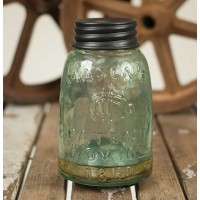 Mason Jar Fruit Fly Trap