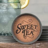 Mason Jar Lid Coaster - Sweet Tea