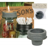 Mason Jar Tapered Cup Lid - Barn Roof