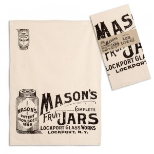 Mason Jars Tea Towel