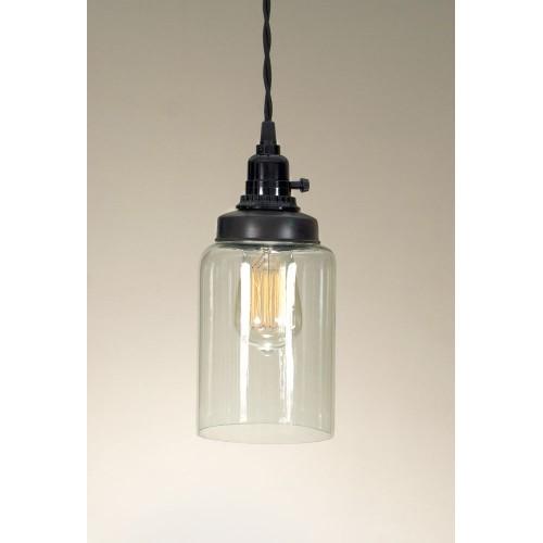 Medium Cylinder Jar Pendant Light