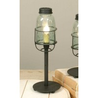 Medium Mason Jar Desk Lamp