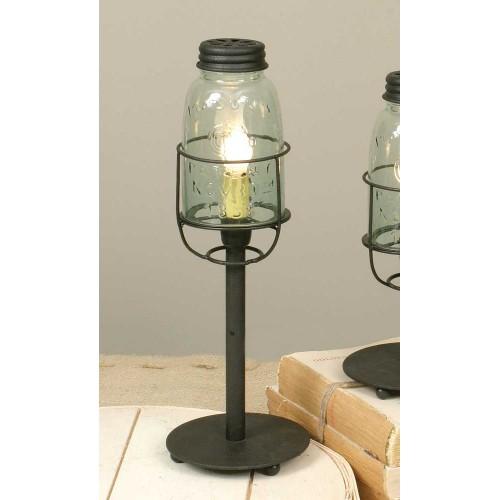 Medium Mason Jar Desk Lamp