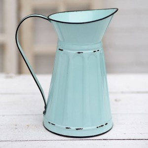 Medium Metal Pitcher