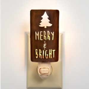 """Merry & Bright"" Night Light"