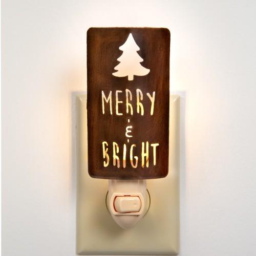 """""""Merry & Bright"""" Night Light"""