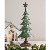 Metal Christmas Tree with Star