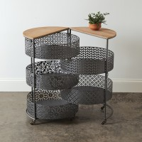 Metal Expandable Storage Table