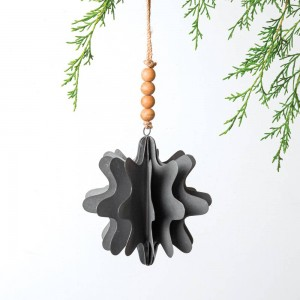 Metal Snowflake Ornament - Box of 2