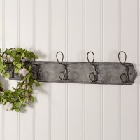 Metal Wall Mounted Entryway Rack