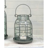 Midget Pint Mason Jar Candle Cage