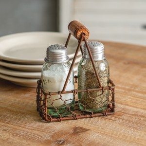 Milk Carrier Salt and Pepper Caddy - Box of 2