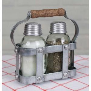 Milk Crate Salt and Pepper Caddy
