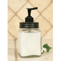 Mini Dazey Butter Churn Jar Soap Dispenser