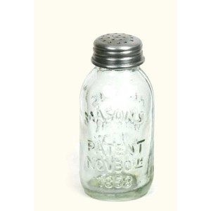 Mini Mason Jar Salt and Pepper Set